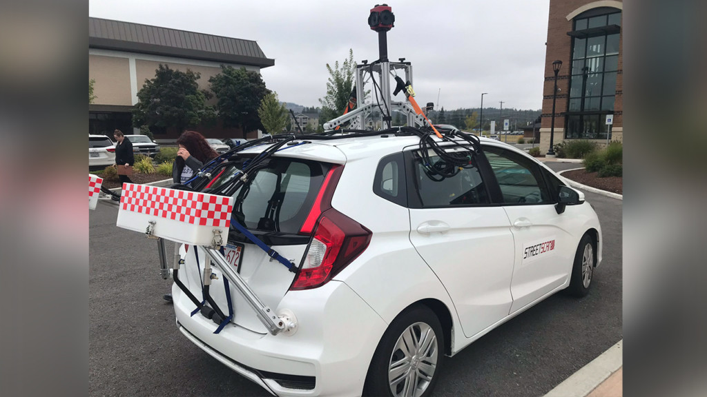Spokane Valley using 3-D imaging to determine which roads need fixing