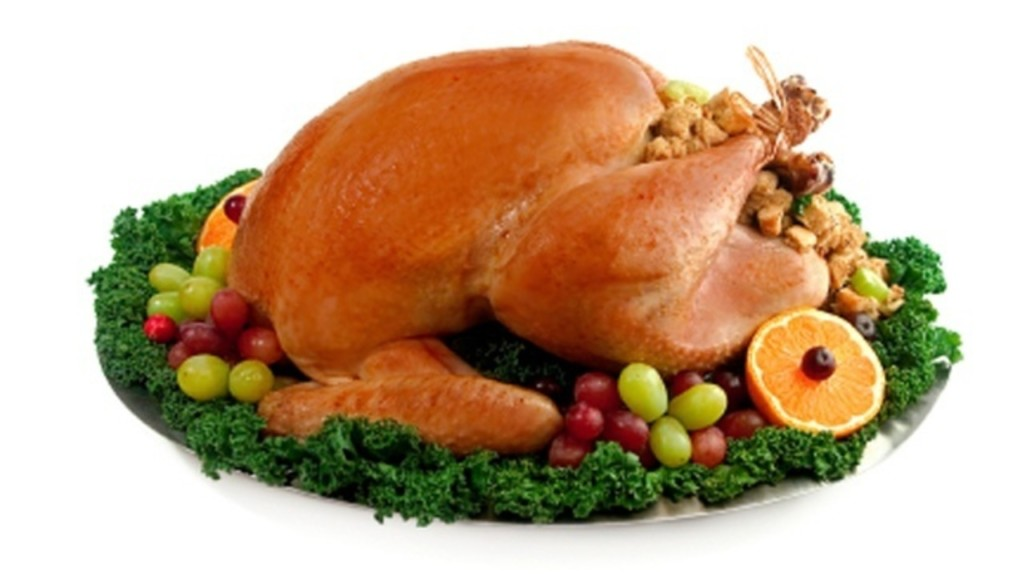 How much turkey does it take to feed a college football team?