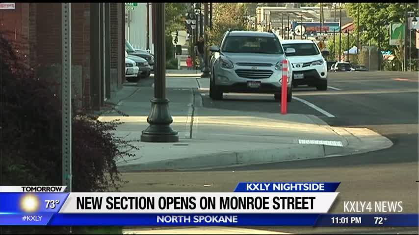 North Monroe Street set to reopen today