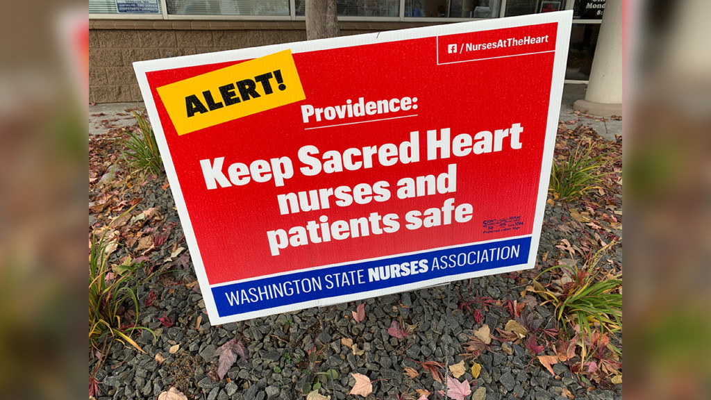 'There is still a long way to go': Providence fails to reach agreement with Sacred Heart nurses