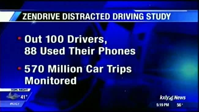 Study finds startling distracted driving statistics