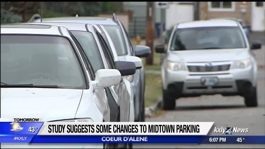 City of Coeur d'Alene presents results of Midtown parking study