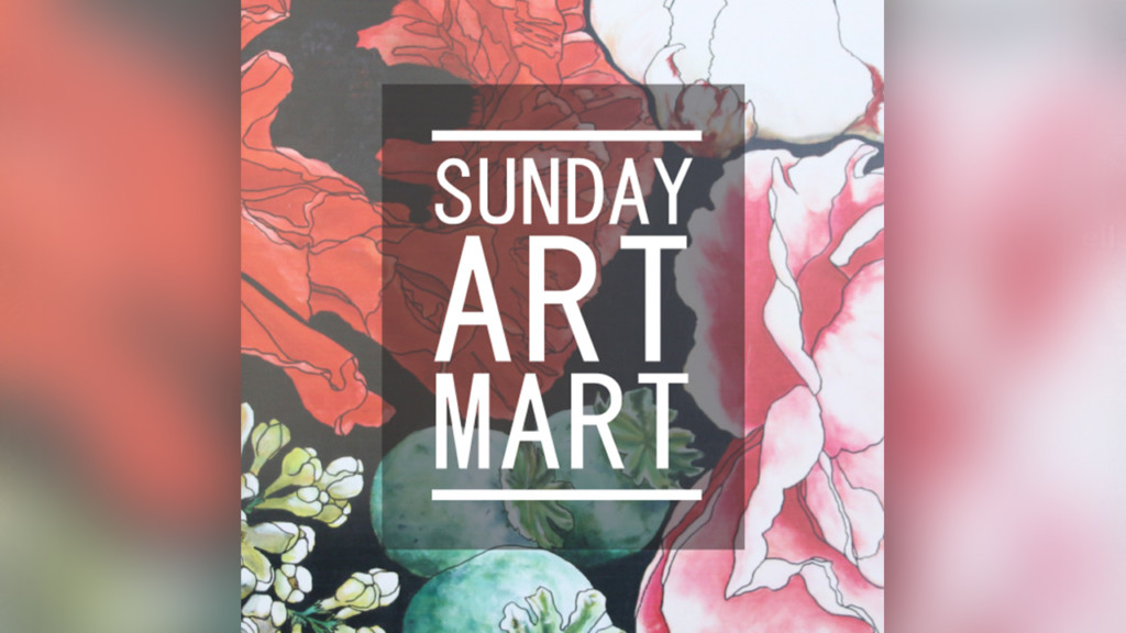 There's still time this August to check out Sunday Art Mart
