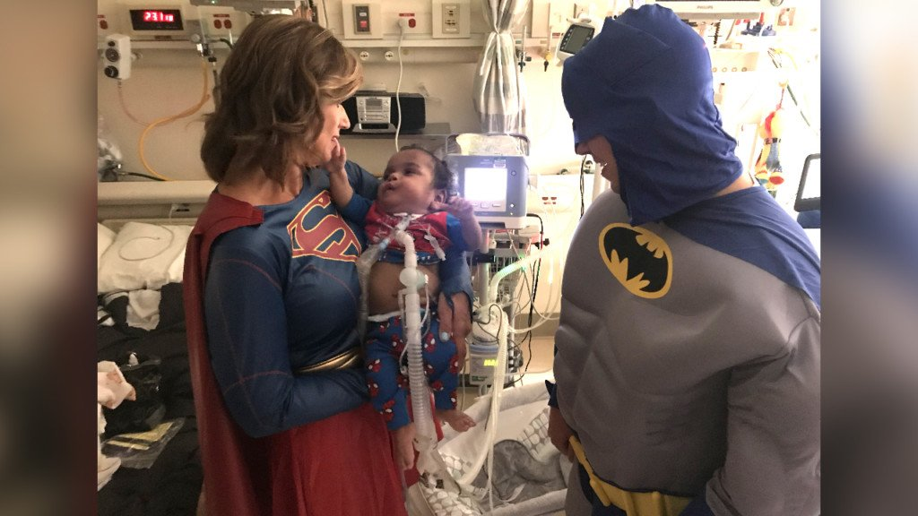 Here's how you can be a superhero for kids at Sacred Heart Children's Hospital
