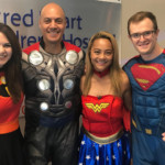 Young patient redefines the meaning of 'superhero'