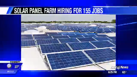 Solar project brings over 150 summer jobs to Lind