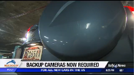 Backup cameras now required in new cars