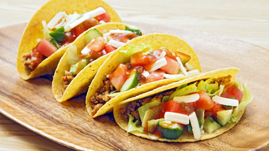 Chronic Tacos giving out free tacos on National Taco Day