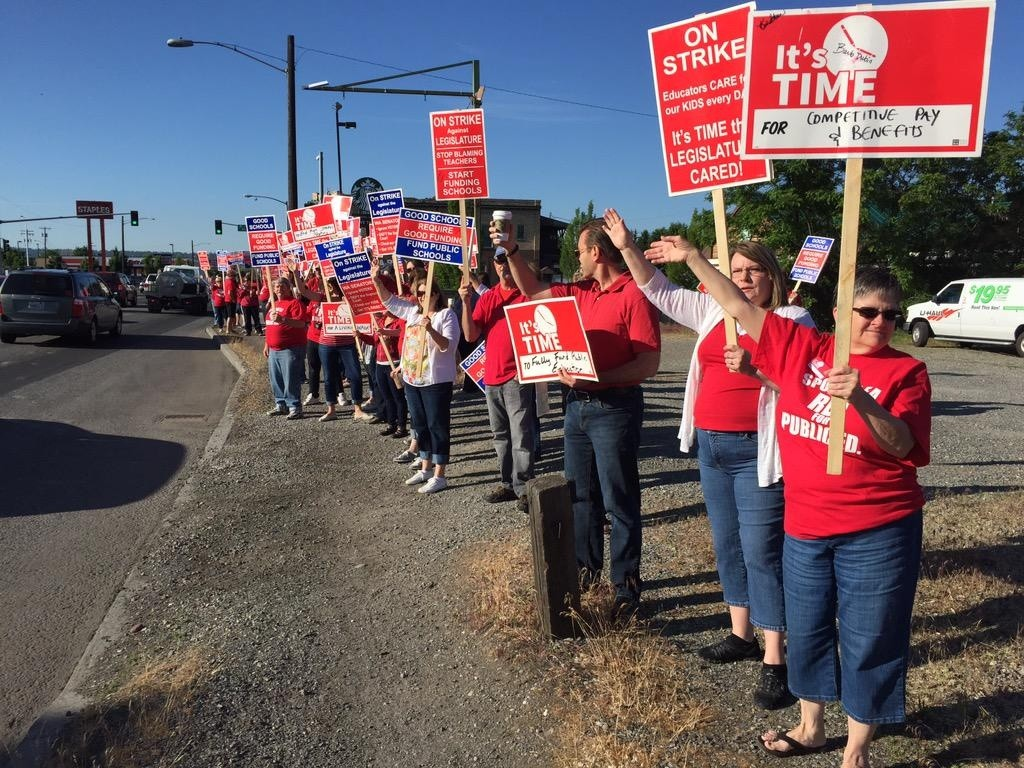 Negotiators burning midnight oil as teacher strike deadline nears