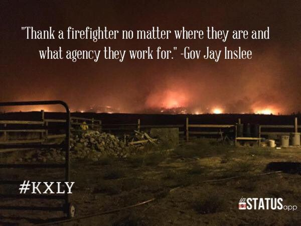 Sound Off for August 20th: Share words of encouragement for our firefighters.
