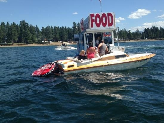 The Buoy brings a new level of convenience to Lake Cd'A boaters