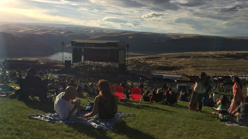 Here's who's playing at the Gorge Amphitheatre this summer