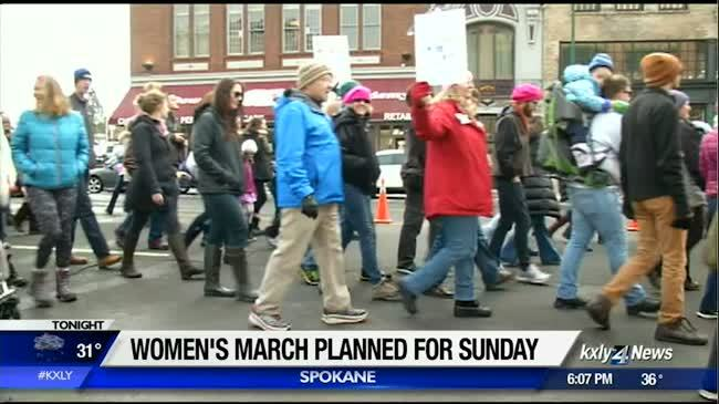 Thousands expected to attend Spokane Women's March