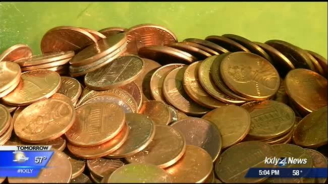 Thousands of pennies to help nonprofit school