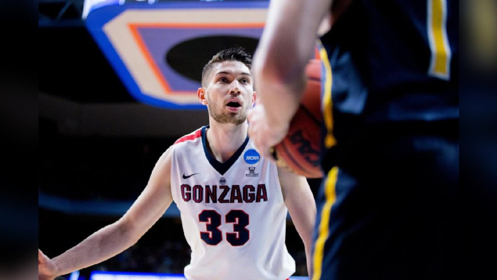 Killian Tillie declares for 2019 NBA draft; fourth Zag to make the decision this year