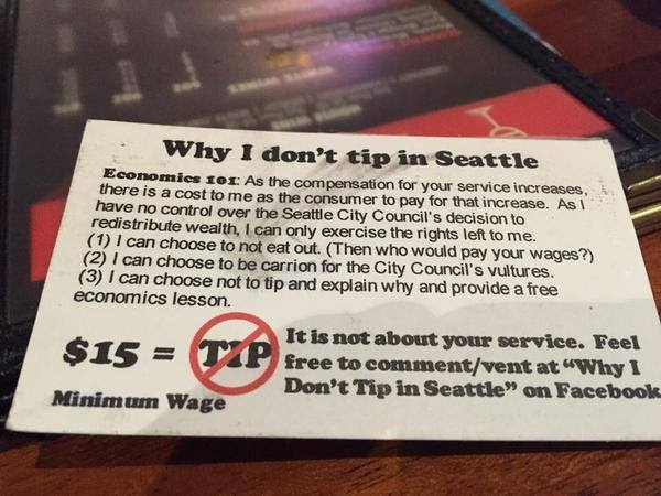 Sound Off for July 16th: Should you tip less as servers' wages go up?