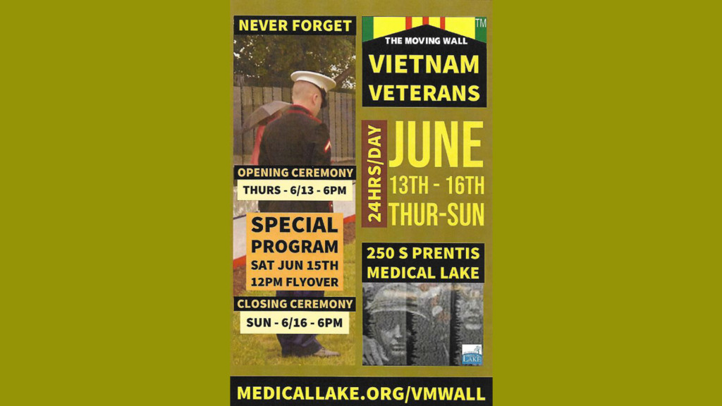 Vietnam Veterans Memorial replica on display in Medical Lake