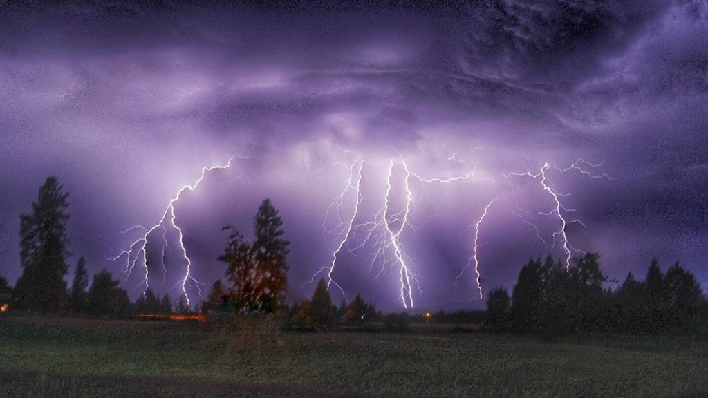 Summer storm brings 3,499 lightning strikes across the Inland Northwest