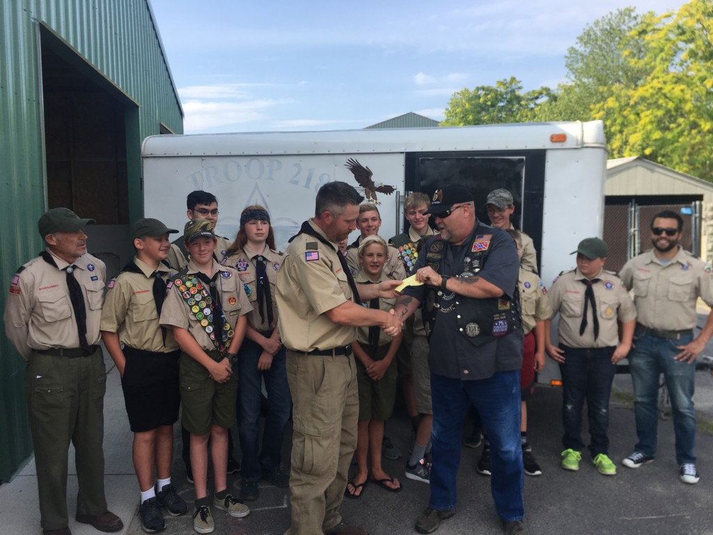 American Legion Post 9 pulls through for local Boys Scout troop