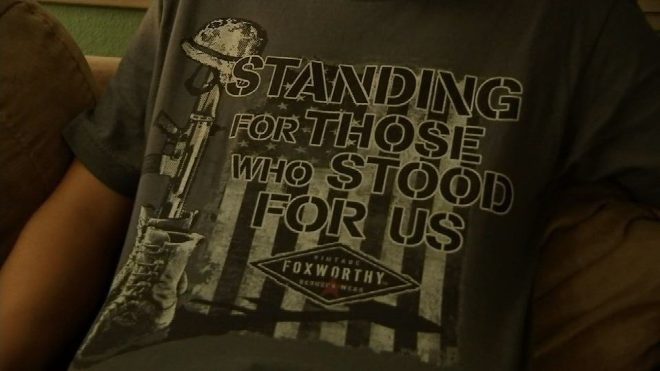 Sound Off for October 12th: Teen suspended for patriotic t-shirt. What are your thoughts?