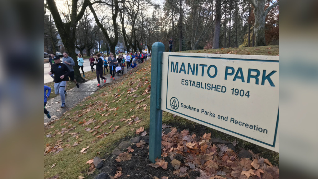 Manito Park hosts Spokane's annual Turkey Trot