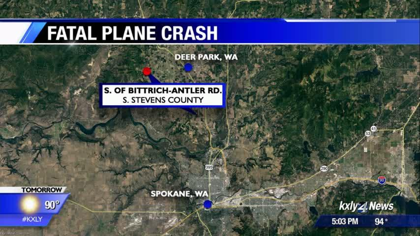 NTSB offers update on fatal plane crash investigation in Stevens County