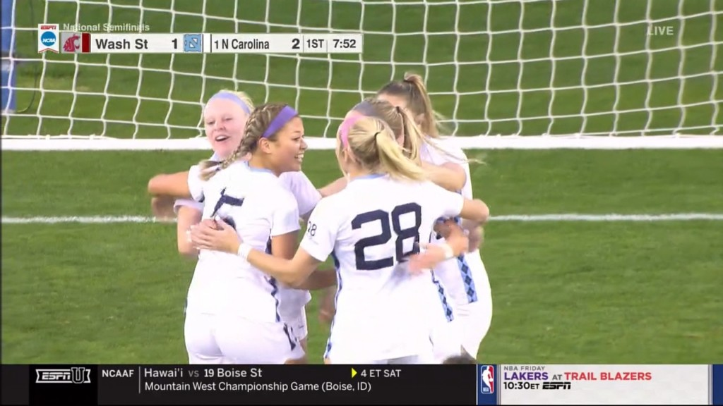 WSU soccer bows out of NCAA College Cup after 2-1 loss to North Carolina