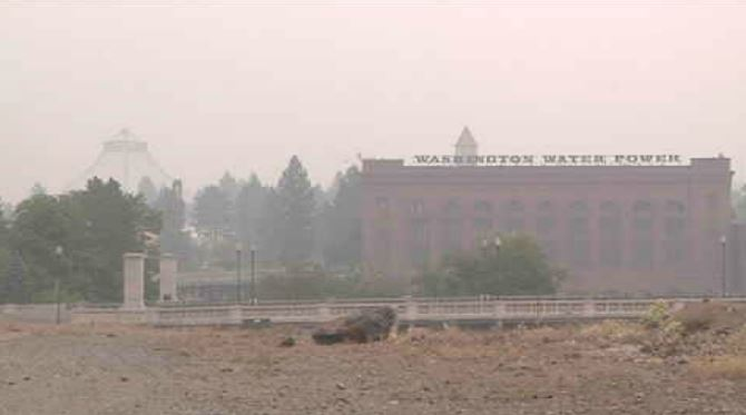 Many in Spokane out and about in extremely unhealthy air