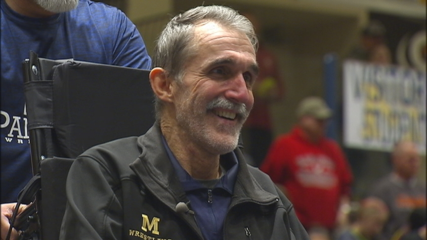 Longtime Mead coach Dave Vaughn returns after suffering spinal cord injury