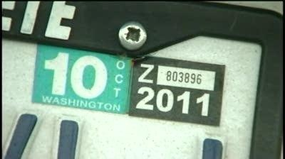 Push to bring back $30 car tabs to Washingon state