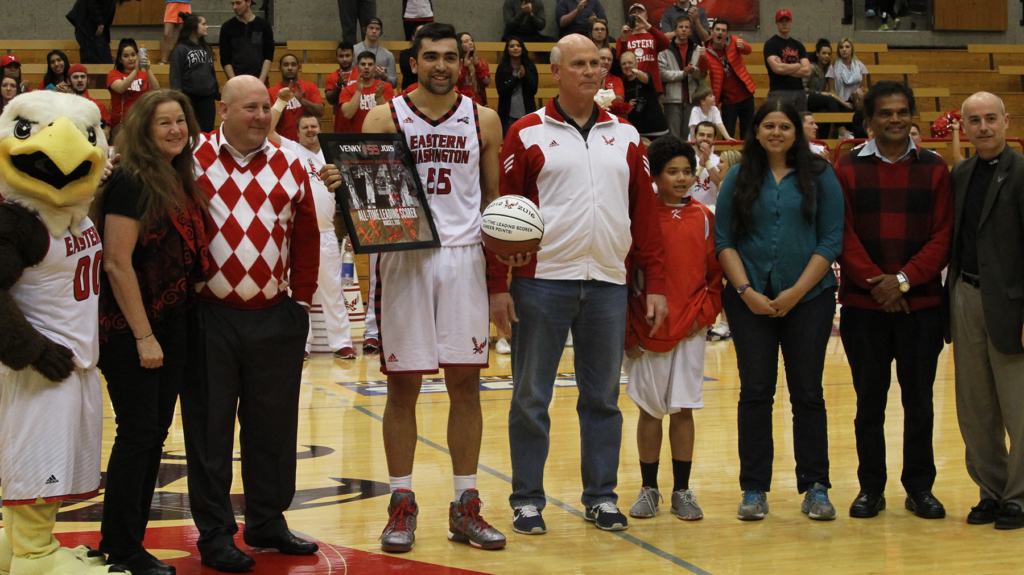 Jois becomes all-time leading scorer, Eags fall to Bengals