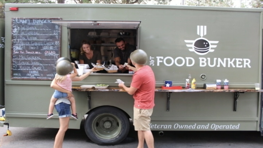 Post Falls couple gives back to veterans with new food truck