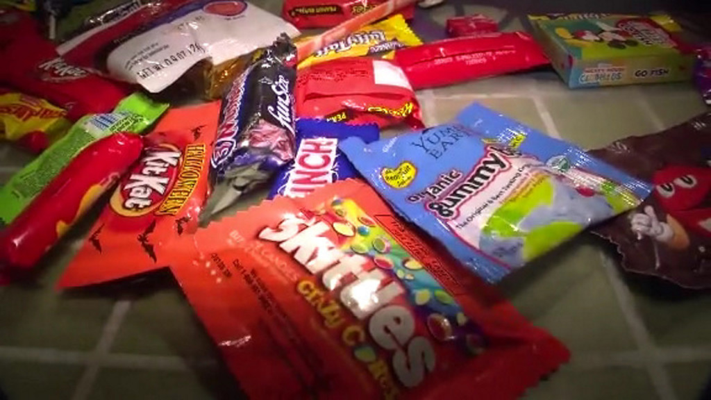 Share your stash? Donate candy to children who couldn't go trick-or-treating