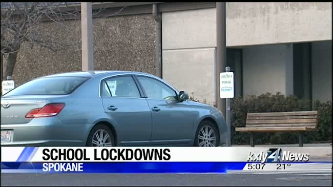 10 Spokane schools locked down during police chase