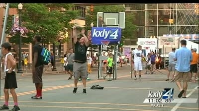 Downtown Spokane transforms for Hoopfest