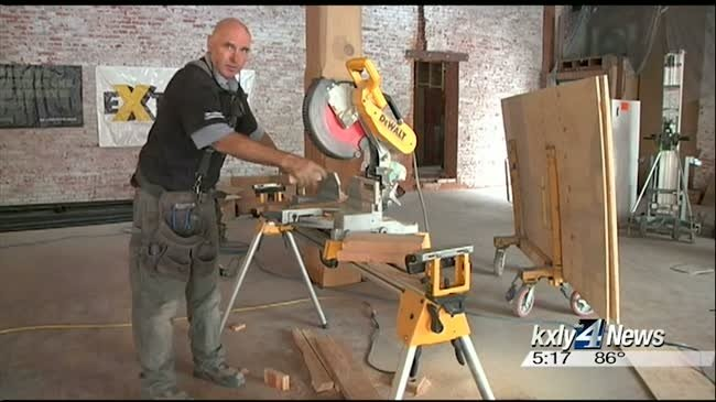 Extreme Team refurbishing Jefferson Building for Spokane Boxing Club