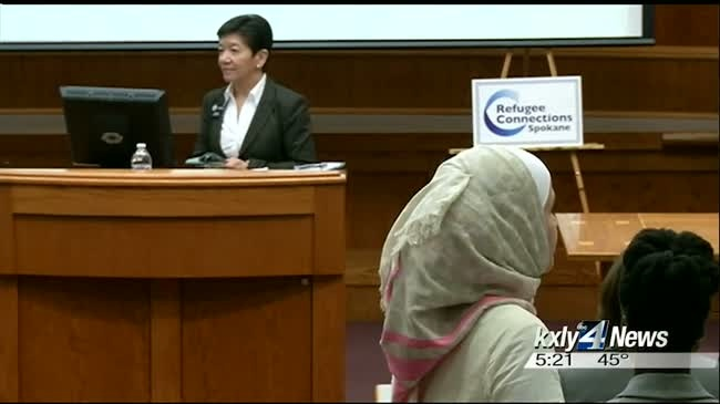 Justice Yu travels to Spokane to teach refugees about Constitution