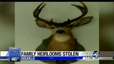 Reward offered for family heirlooms stolen from Colville home