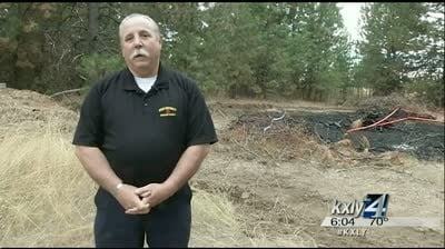 Search for serial arsonist personal for Spokane County fire chief