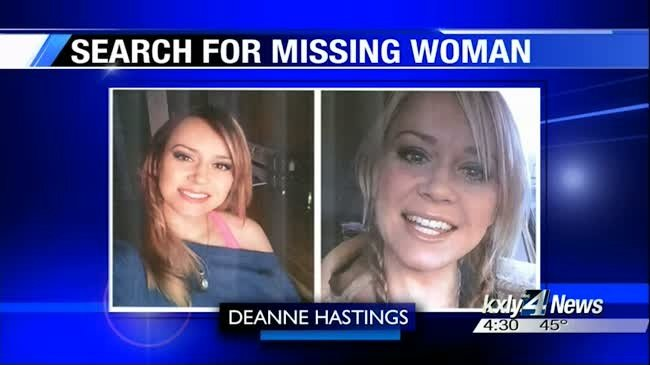 Search party retraces Deanne Hastings' last known steps