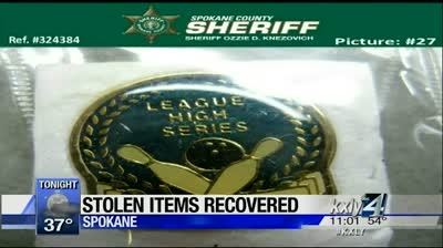 Sheriff turns to social media to return stolen property