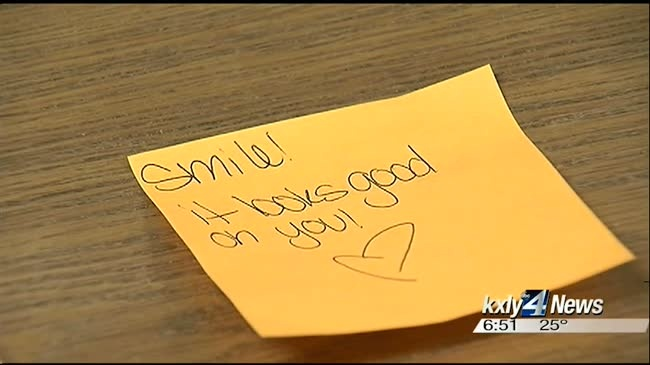 Special homework assignment encourages kindness at local middle school