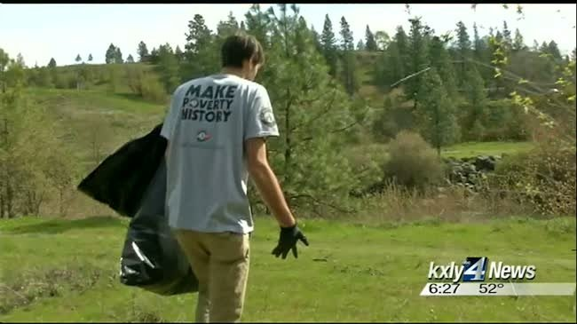 Spokane Gives a month to clean up community