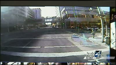 STA cameras help show who caused weekend collision
