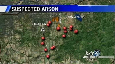 Tips pour in on arson investigation