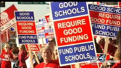Union preparing teachers to strike Friday