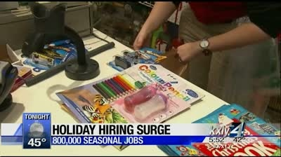 Working 4 you: Holiday hiring has bright outlook