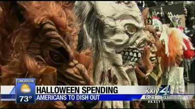 Working 4 you: How much will America spend on Halloween?