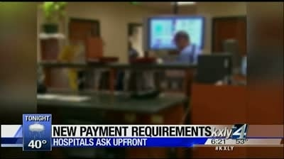 Working 4 you: More hospitals ask for payment upfront