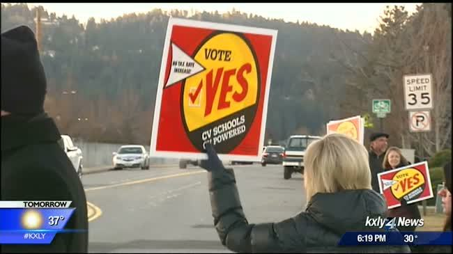 Volunteers encourage citizens to send in ballots for Spokane County special election